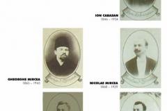 Fratii MIRCEA, membri fondatori ai Societatii Fratia, ctitori ai bisericii Stavropoleos