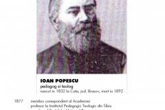 Ioan POPESCU, tatăl Mariei, soția lui Nicolae MIRCEA