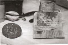 Pașaportul familiei MIRCEA, împreună cu cei trei copii, în refugiu la Odessa - (1916)