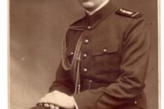 Sergentul Radu Titus MIRCEA, comandant al Diviziei de Gardă - (1933)