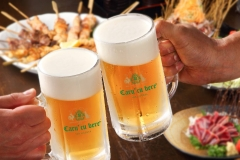 House beer - Caru' cu bere beerhouse in Bucharest