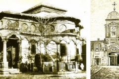 Biserica Stavropoleos și hanul Zlătari - București, 1856