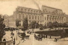 Pod peste Dâmbovița la Tribunal - București, 1909