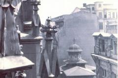 Biserica Stavropoleos, vazută din înălțimea clădirii Caru'cu bere - 1939