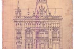 Fațada Caru cu bere, arh.Kofsinsky - 1879