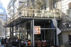 Lucrari restaurare fatada Caru' cu bere - 2013