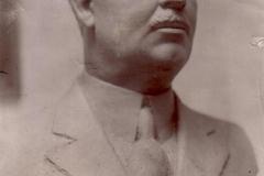 Bust Nicolae MIRCEA - (ghips, sculptor Ion Stanea)