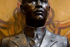 Bust Nicolae MIRCEA - (bronz, sculptor Ion Stanea)
