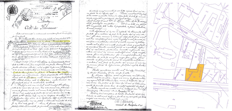Act de vânzare-cumpărare Nicolae Mircea - 1897