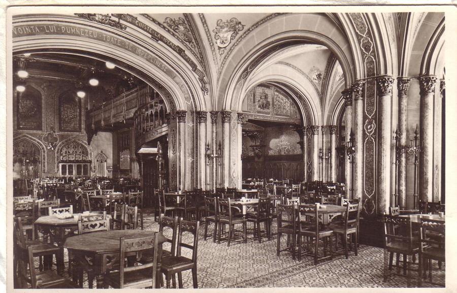 Restaurant Caru' cu bere - inside picture -1924