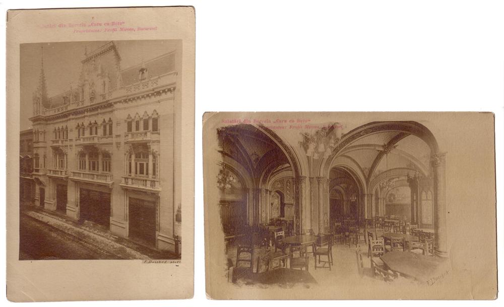 Carti postale Caru' cu bere (foto Duschek)