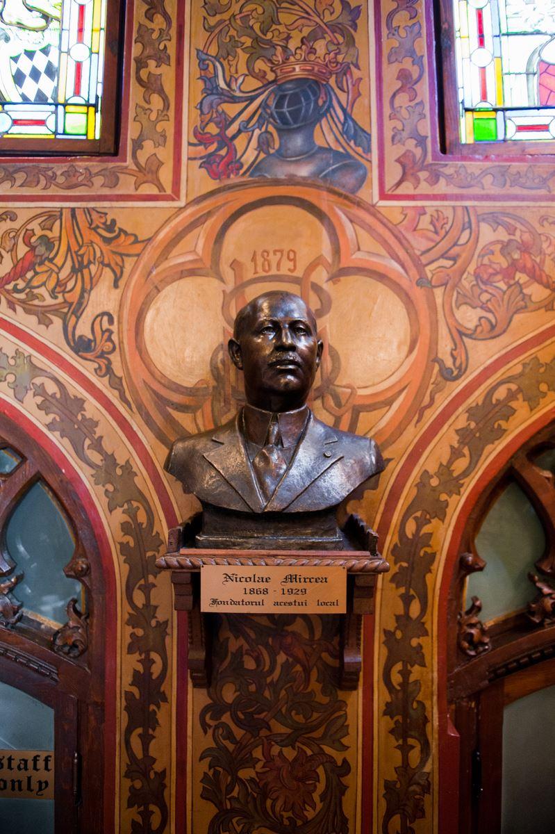 Bustul lui Nicolae MIRCEA - sculptat de Ion Stanea în 1935